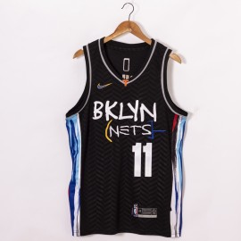 Camiseta Kyrie Irving #11 Brooklyn Nets 2020/21 Negro City Edition