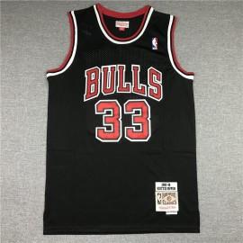 Camiseta Scottie Pippen #33 Chicago Bulls 1997/98 Rojo Hardwood Classics