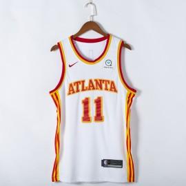 Camiseta Trae Young #11 Atlanta Hawks 2021 Blanco