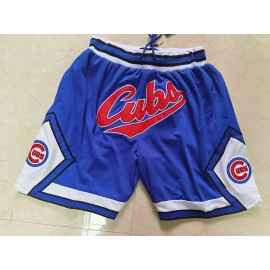 Pantalón Corto Chicago Cubs Azul Just Don