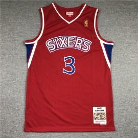 Camiseta Allen Iverson #3 Philadelphia 76ers 1999-00 Azul