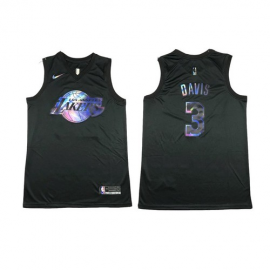Camiseta Anthony Davis #3 Los Angeles Lakers Rainbow Edition
