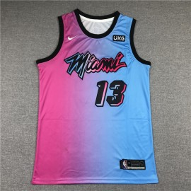 Camiseta Bam Adebayo #13 Miami Heat 2021 City Edition