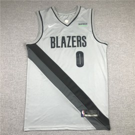 Camiseta Damian Lillard #0 Portland Trail Blazers Earned Edition