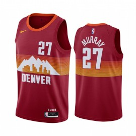Camiseta Jamal Murray #27 Denver Nuggets 2021 City Edition