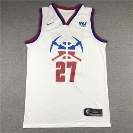 Camiseta Jamal Murray #27 Denver Nuggets Blanco Earned Edition