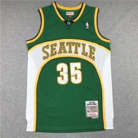 Camiseta Kevin Durant #35 Oklahoma City Thunder Retro Verde