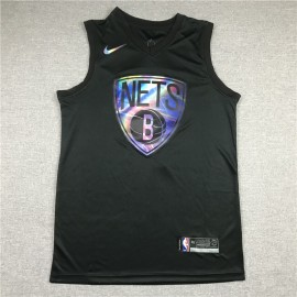 Camiseta Kevin Durant #7 Brooklyn Nets Rainbow Edition