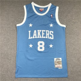 Camiseta Kobe Bryant #8 Los Angeles Lakers MPLS Azul