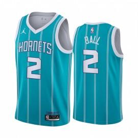 Camiseta LaMelo Ball #2 Charlotte Hornets Azul