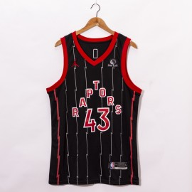Camiseta Pascal Siakam #43 Toronto Raptors 2021 Negro