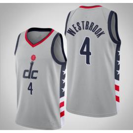 Camiseta Russell Westbrook #4 Washington Wizards City Edition
