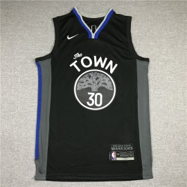 Camiseta Stephen Curry #30 Golden State Warriors 2021 Negro