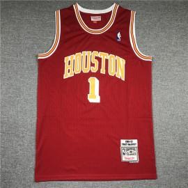 Camiseta Tracy McGrady #1 Houston Rockets Retro Rojo