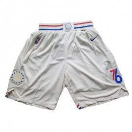 Pantalon Corto 17/18 Philadelphia 76ers Beige City Edition