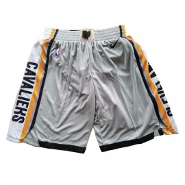 Pantalon Corto Cleveland Cavaliers 17/18 Gris City Edition