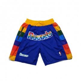 Pantalon Corto De Bolsillo Denver Nuggets 17/18 Gris City Edition