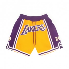 Pantalon Corto 1978/2020 Kobe Bryant Amarillo Gold Edition