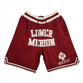 Pantalon Corto Kobe Bryant Rojo High School Just Don