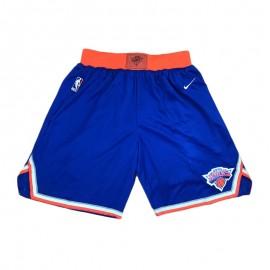 Pantalon Corto 17/18 New York Knicks Azul