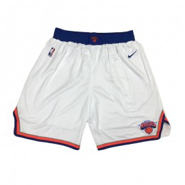 Pantalon Corto 17/18 New York Knicks Blanco
