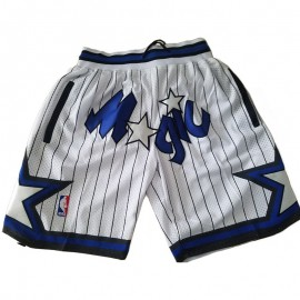 Pantalon Corto 2003/04 Orlando Magic Blanco Classic Edition