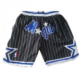 Pantalon Corto 2003/04 Orlando Magic Negro Classic Edition