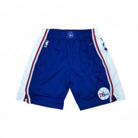 Pantalon Corto 17/18 Philadelphia 76ers Azul City Edition