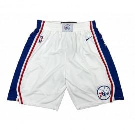 Pantalon Corto 17/18 Philadelphia 76ers Blanco Association Edition