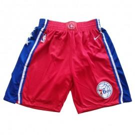 Pantalon Corto 17/18 Philadelphia 76ers Rojo City Edition